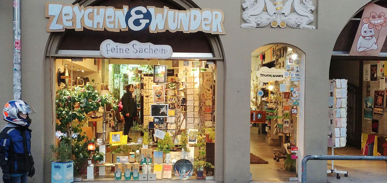 Zeychen & Wunder in der Sanderstraße in Würzburg